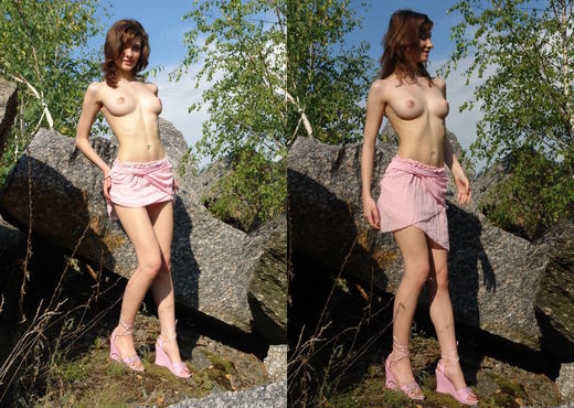 Jini - Walking In Nature 1 - Erotic Beauty - Solo TGP