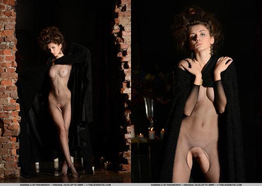 Sabrina G - The Tease - The Life Erotic - Solo Nude Pics