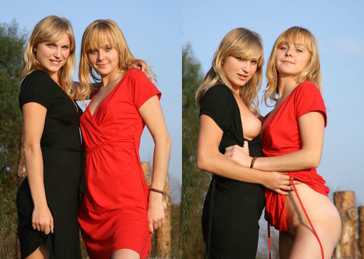 Kira E, Lenda - Presenting Lenda & Kira E 1 - Erotic Beauty - Lesbian TGP