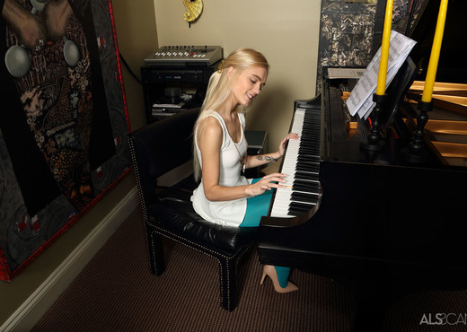 Alex Grey - The Pianist - ALS Scan - Solo Image Gallery