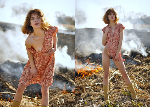 Emily Windsor - After The Burn - Erotic Beauty - Solo Nude Gallery
