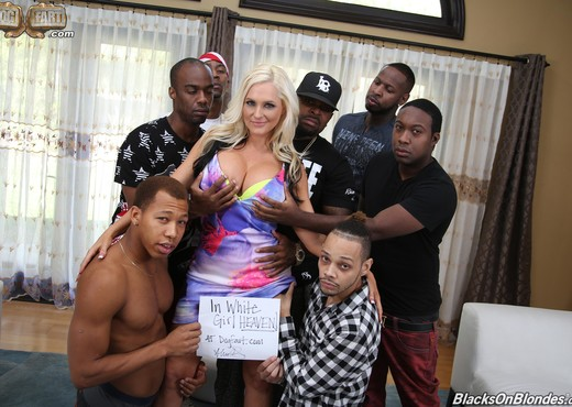 Alena Croft - Blacks On Blondes - Interracial Hot Gallery
