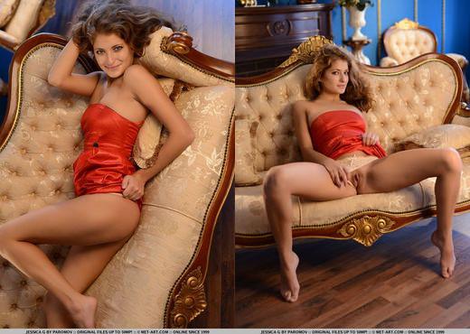 Jessica G - Presenting Jessica - MetArt - Solo Nude Pics