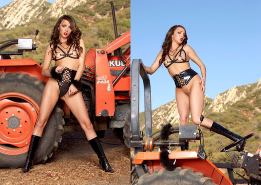 Charlie Laine - Tractor Training - Holly Randall - Solo Sexy Photo Gallery