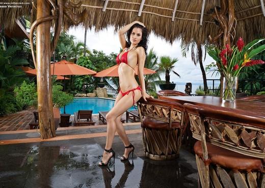 Vanessa Veracruz - hairy latina pussy - InTheCrack - Latina Nude Gallery