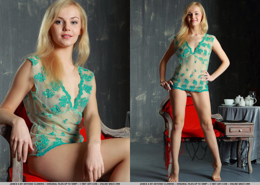 Janice A - Privado - MetArt - Solo Nude Pics