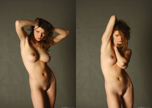 Maria D - The Canvas 1 - Erotic Beauty - Solo Sexy Photo Gallery