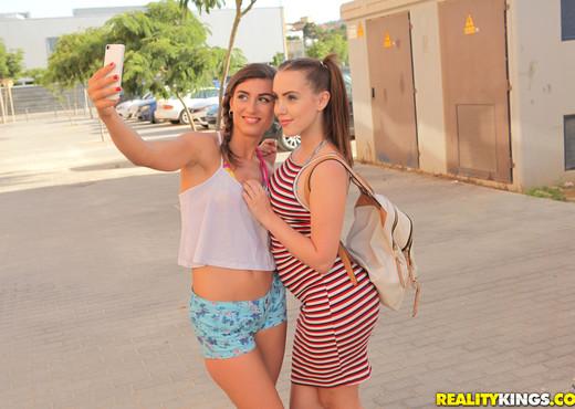 Zoe Doll, Julia Roca - Legs Up Cock In - Euro Sex Parties - Hardcore HD Gallery