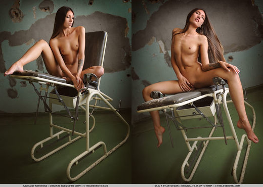 Saju A - Sex Chair - The Life Erotic - Solo Hot Gallery