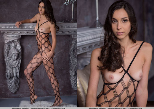 Magali A - Body Net - The Life Erotic - Solo Picture Gallery