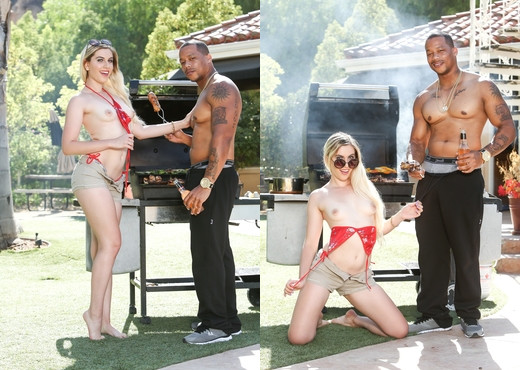 Niki Snow - My New Black Stepdaddy #21 - Devil's Film - Interracial Nude Gallery