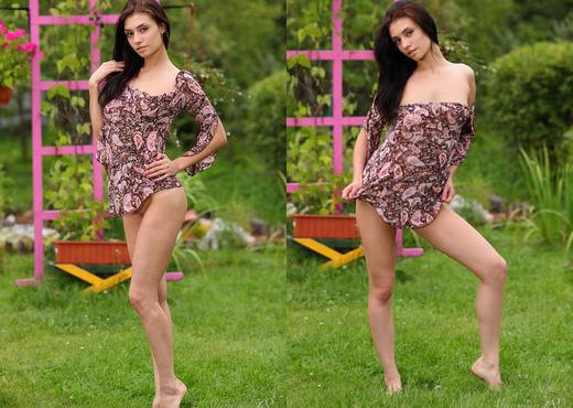 Marina H - In A Garden - Stunning 18 - Teen Porn Gallery