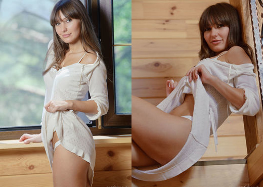 Adel B - At My Place 1 - Erotic Beauty - Solo Picture Gallery