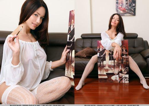 Mila M - Indeni - MetArt - Solo Nude Pics