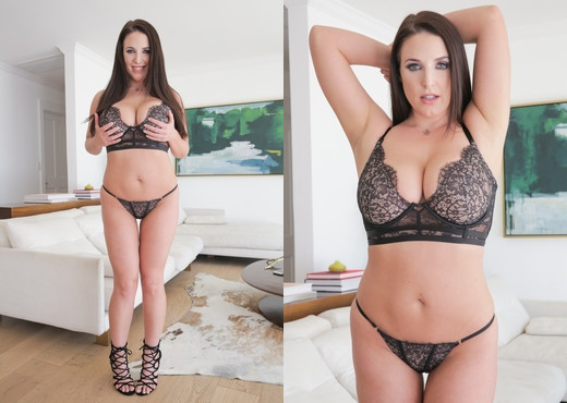 Angela White - Buxom Angela's Raw Private Date - Evil Angel - Solo Nude Pics
