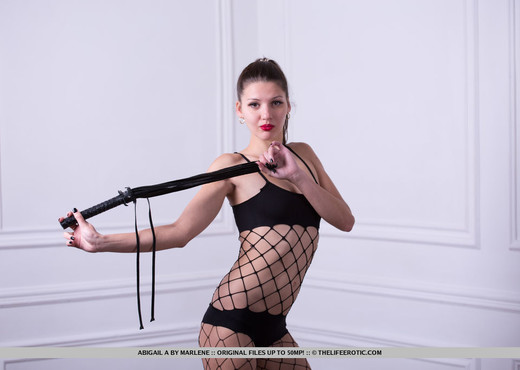 Abigail A - Whipped - The Life Erotic - Solo Nude Pics