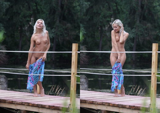 Kristy - The Dock 2 - Erotic Beauty - Solo Hot Gallery
