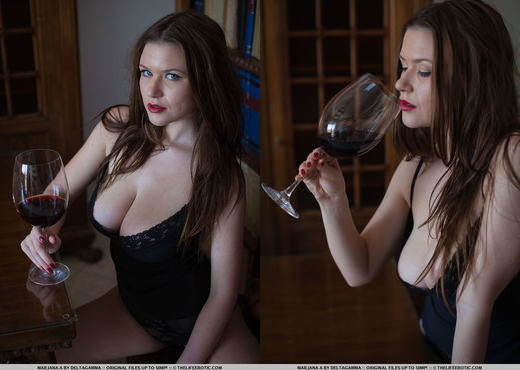 Marjana A - Bordeaux - The Life Erotic - Solo Nude Pics