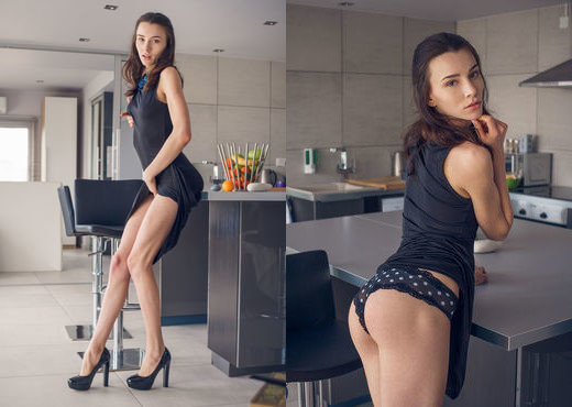 Adel Morel - Kitchen - MetArt X - Solo Porn Gallery