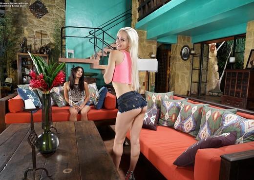 Gina Valentina & Elsa Jean - InTheCrack - Lesbian Nude Gallery