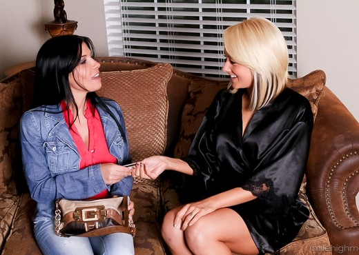 Rebeca Linares, Briana Blair - Girls Eating Girls - Lesbian Image Gallery