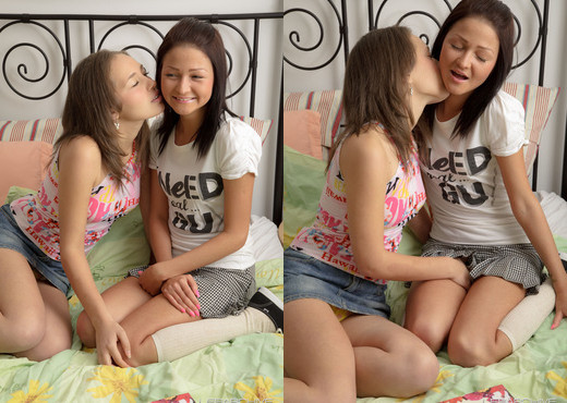Teen Depot - Laura and Ilina - Lesbian Image Gallery