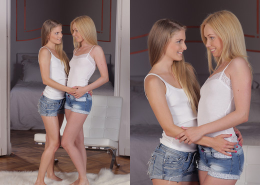 Teen Depot - Lina Napoli and Cayenne Klein - Lesbian Picture Gallery