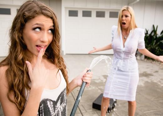 Rebel Lynn, Alexis Fawx - Chore Duty Part 2 - Girlsway - Lesbian HD Gallery