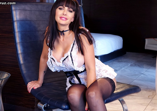 Busty Catalina Cruz is your naughty xxx maid - Solo Hot Gallery