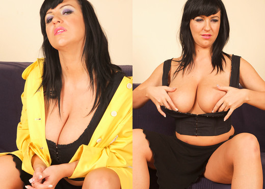 Kora Krak masturbates in Yellow dress - My Boobs - Boobs Nude Gallery