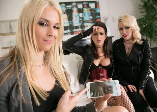 Samantha Rone, Ashley Adams, Sarah Vandella - Sister Act - Lesbian Image Gallery