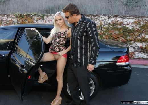 Blonde Naomi Woods Gets Plowed In A Car - Lethal Hardcore - Hardcore Image Gallery