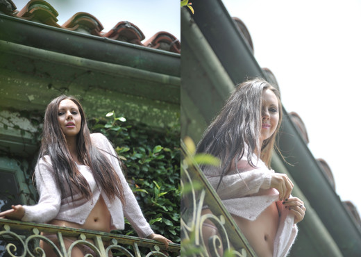 Tessa - Balcony - BreathTakers - Solo Nude Pics