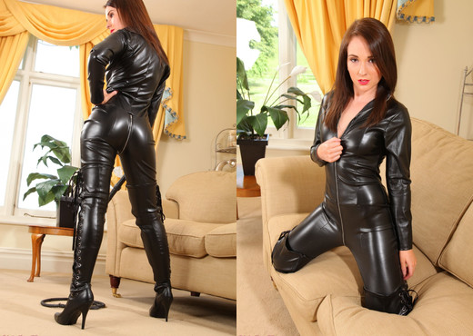 Tammy M Catsuit - Strictly Glamour - Solo Nude Gallery