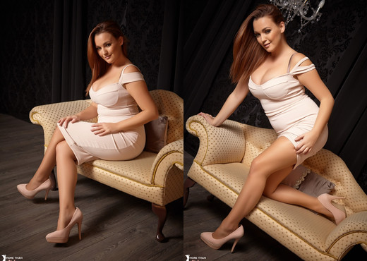 Jodie Gasson - Chaise Longer - More Than Nylons - Solo Sexy Gallery
