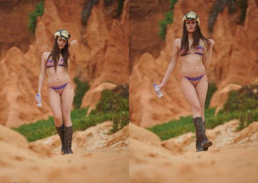 Lucy Blackburn - Beach Cowboy - Girlfolio - Solo Porn Gallery