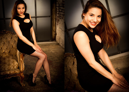 Lacey Banghard - Lbo Black Dress - Solo Picture Gallery