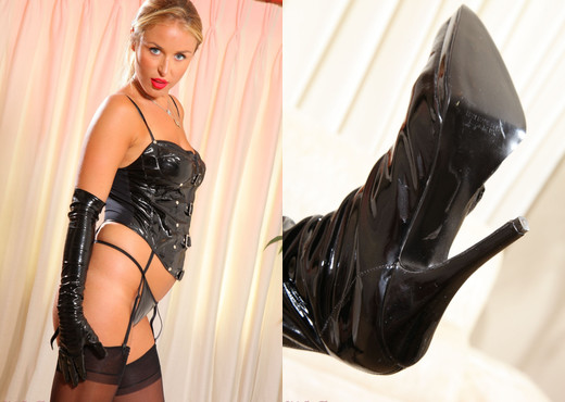 Rosie Whiteman - Rw Gloves - Strictly Glamour - Solo Nude Pics