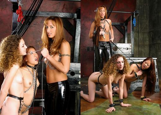 Rhiannon Bray and Ayako - Horny Lesbian GFs - Lesbian TGP