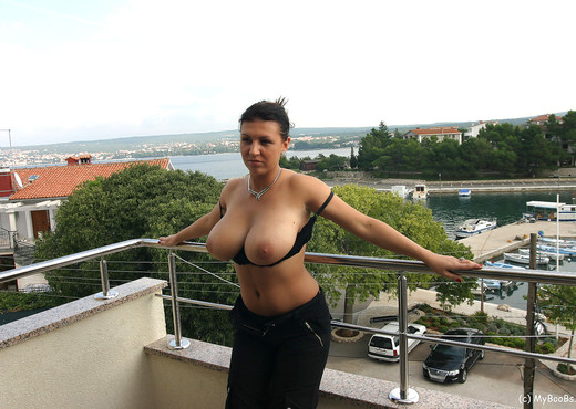 Kora Balcony - My Boobs - Boobs Sexy Photo Gallery