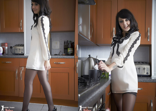 Zoe Moore - 'Trouble' Is Brewing - More Than Nylons - Solo Picture Gallery