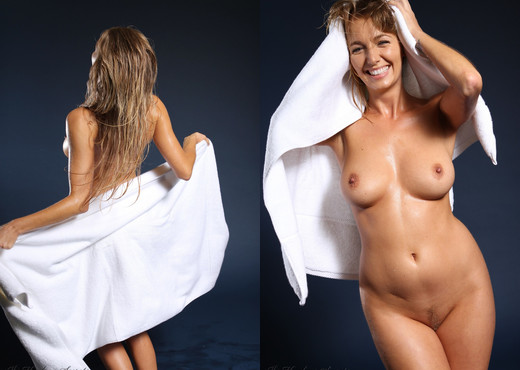 Hayley Marie Coppin - Towel - Hayley's Secrets - Solo Sexy Photo Gallery