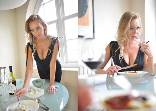 Hayley Marie Coppin - Dinner Date - Hayley's Secrets - Solo Sexy Gallery