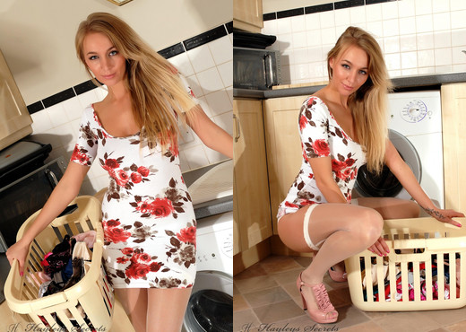 Hayley Marie Coppin - Domestic Goddess - Hayley's Secrets - Solo Nude Gallery