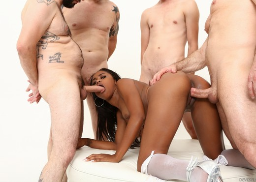Amilian Kush - White Out #04 - Devil's Film - Ebony Hot Gallery