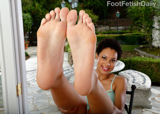 Amethyst Banks Lovely Size 10s Covered in Jizz - Feet HD Gallery