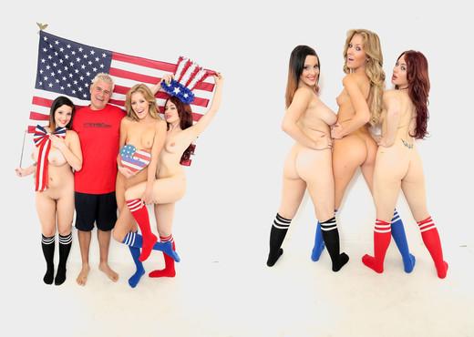 Jessica Ryan, Emily Kae & Noelle Easton - Immoral Live - Hardcore Image Gallery