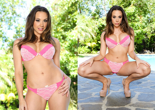 Chanel Preston - Throated - Blowjob Nude Pics