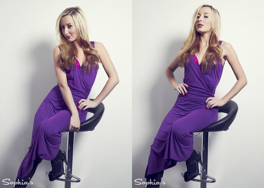Sophia Smith - Studio Time - Sophia's Sexy Legwear - Solo Picture Gallery
