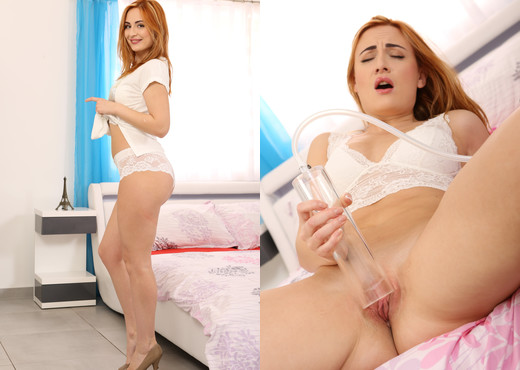 Wet and Puffy - Eva Berger - Toys Nude Pics